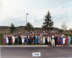 1986 Class Reunion Photo