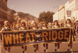 1965-1966 Cheerleaders! Tia Tyler, Kay Lowder, Susie Bebber, Pat Sartore Phillips, Judy Kifer DeCook, Leslie Rains Rader