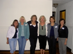 Dianne Corbetta Connolly, Cathy Brattebo White, Kay Dwyer Rees, Mary Capes Baretta, Amy Novakovich Holler, Pam Diehl Whi