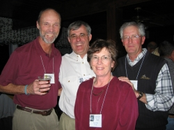 Mike Dowell, Bob McCuiston, Pam Diehl Whitaker, John Lough