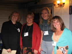 Diana Kunz, Tracey Tewell Welch,  Becky Janowski Kolberg,  and Dianne Corbetta Connolly