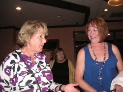 Tracey Tewell Welch and Joan Robbins Prichard