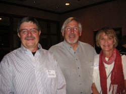 Bob Sechler and Nick and Wendy Ulmer