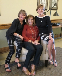 Dianne Corbetta Connolly, Kay Dwyer Rees, Judy Kifer DeCook