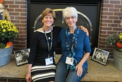 Judy Kifer DeCook and Leslie Rains Rader