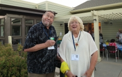 Mike Hawkins and Cheryl Preston Weiman