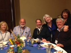 Michael Ann and Kent Johnson, Bryan Cormack, Kathy Lotito Voorhees, Bob and Gayle McCuistion