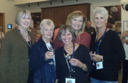 Doreen Coleman Newcomb, Barb Birmingham MacDonald, Dianne Corbetta Connolly, Kay Dwyer Rees, Pam Mitchell Zinanti