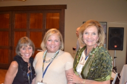 Dianne Corbetta Connolly, Pat Sartore Phillips, Kay Dwyer Rees
