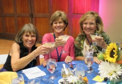 The Martini Queenies: Dianne, Judy, Kay